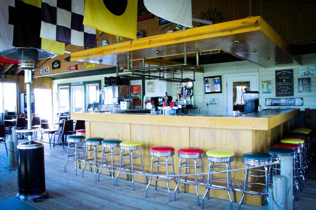 Outside Bar Restaurant Gallery Ainsleys Cafe And Harbor Bar